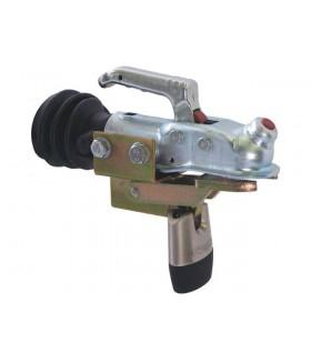 Double lock disselslot vaste montage geremde aanhangwagens