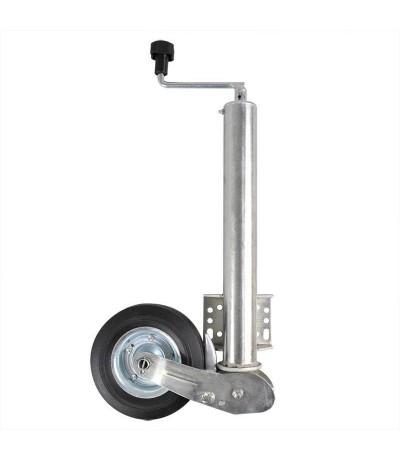 Neuswiel 60mm zwaar automaat met disselbevestiging Neuswiel aanhanger