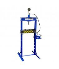 Mammuth Werkplaatspers handbediend hydraulisch 12 ton Werkplaats pers