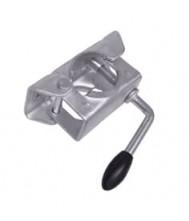 Klem voor neuswiel 48 mm. Neuswiel aanhanger