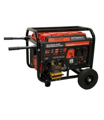 Benzine aggregaat elektrische start 7kw Benzine aggregaat