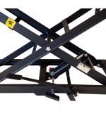 Mammuth Motorheftafel kruis 450kg hydraulisch Hefbrug / Motorfietslift