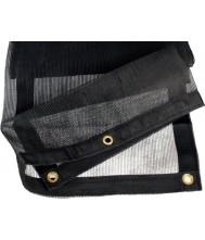 Aanhangernet fijnmazig 350x250 cm zwart Netten en Doeken