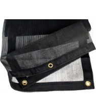 Aanhangernet fijnmazig 450x250 cm zwart Netten en Doeken