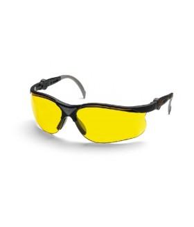 Husqvarna veiligheidsbril yellow x (geel) Gelaatsbescherming
