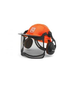 Husqvarna veiligheidshelm functional oranje Hoofdbescherming