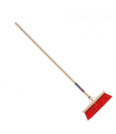 Talentools bezem rood 35cm incl steel Overig Tuingereedschap