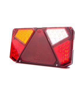 Was led achterlicht rechthoek 12-24v links + achteruit Aanhanger verlichting LED