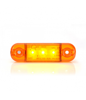 Ksg led zij/toplamp oranje 12/24watt 3 leds