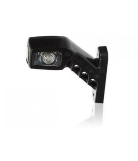 Rubber zijlamp led 3 lamp rechts 13cm 12/24v Aanhanger verlichting LED