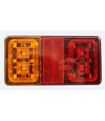 KSG led achterlicht 12/24v +2mtr kabel Aanhanger verlichting LED