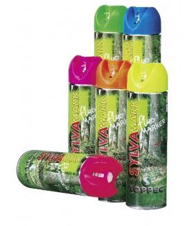 Soppec markeerverf fluo markeringsspray wit