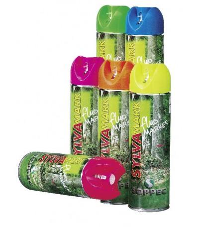 Soppec markeerverf fluo markeringsspray wit Overig Tuingereedschap