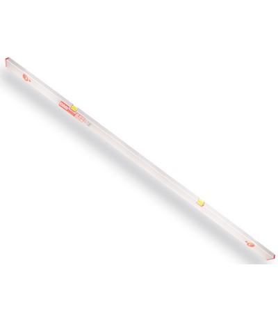 BMI bouw / stel waterpas 200cm aluminium met stelvoetjes