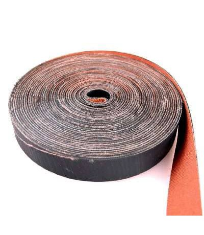 Boomband +/-4cm rubber/canvas 15m