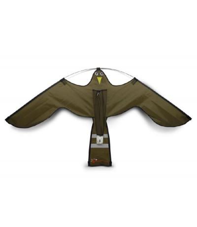 Hawk-kite losse vlieger bruin Vogelverschrikker