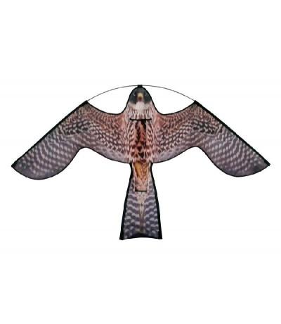 Reserve vlieger hawk kite met roofvogelprint Vogelverschrikker