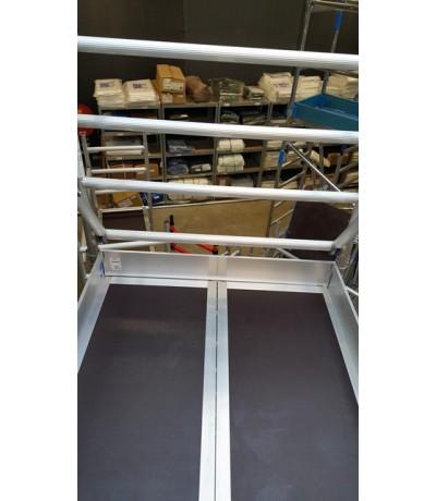 Solide set kantplanken 135 x 305 Steigers en toebehoren