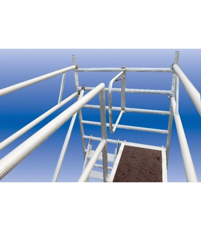 Solide leuning bovenste niveau 305 Steigers en toebehoren