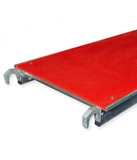 Alu-top platform fiber 1.90m zonder luik