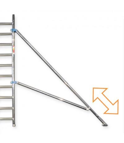 Alu-top telestabilisator 3.00m Steigers en toebehoren
