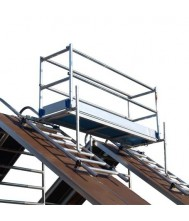 Alu-top dak - schoorsteen steiger 1.90m