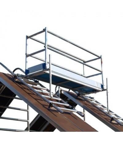 Alu-top dak - schoorsteen steiger 2.50m Steigers en toebehoren