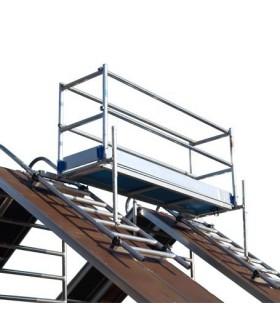 Alu-top dak - schoorsteen steiger 3.05.m