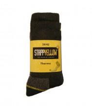 Sok stappyellow, -thermo-, á 2pr, antraciet- 39/42
