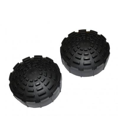 Telesteps rubber voeten 76mm 2 stuks Onderdelen trappen/ladders