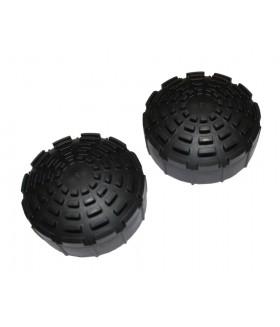 Telesteps rubber voeten 80,8mm 2 stuks Onderdelen trappen/ladders