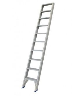 Solide enkele trap et 10 treden Trap enkel