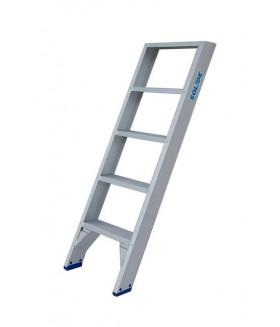 Solide enkele trap et 5 treden Trap enkel