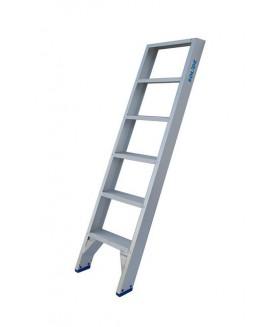 Solide enkele trap et 6 treden Trap enkel