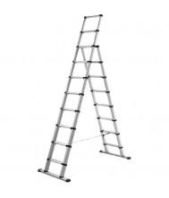TELESTEPS BLACK LINE COMBI LADDER 3,0MTR Telescoop Ladder