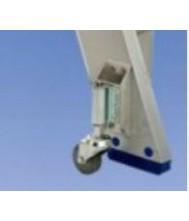 Solide set van 4 verende wielen voor dt trap Accesoires Trappen en Ladders