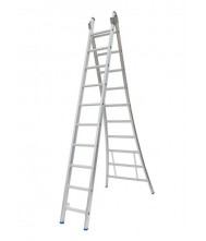 Solide 2-delige ladder 2x10
