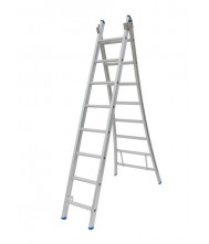Solide 2-delige ladder 2x8