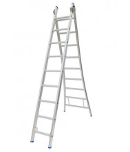 SOLIDE 2-DELIGE LADDER 2X9