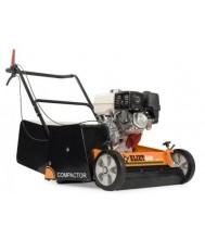 Eliet 600 compactor verticuteermachine 9pk subaru double cut messen