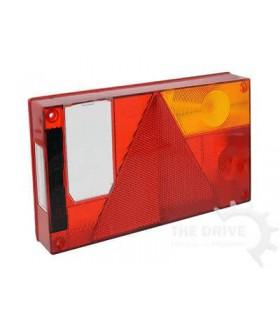 Aspock achterlicht met driehoekreflector multipoint