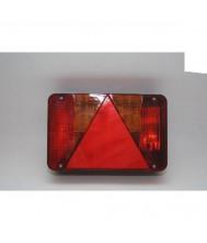 Radex achterlicht 5800/10 links+driehoekreflector Aanhanger verlichting