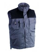 Herock Donar bodywarmer grijs/zwart XL