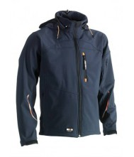 Herock Poseidon softshell jas  marine XL