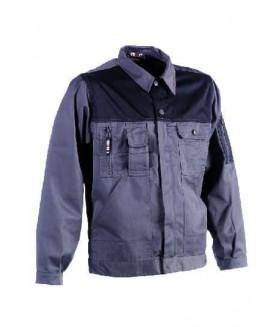 Herock Aton jas grijs/zwart L