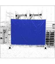 Dekkleed fence tarp 1.76x3,41 140gr zwart