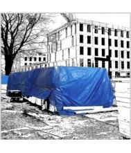 DEKKLEED MULTI TARP STANDAARD 6X10MTR 110GR ALLE KLEUREN Afdekkleden