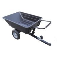 Aanhangwagen met kiepbak in kunststof 250 Kg