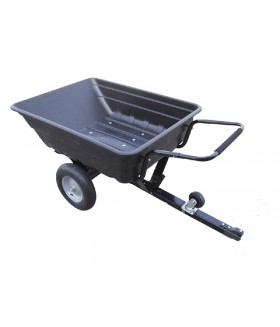 Aanhangwagen met kiepbak in kunststof 250 Kg Accessoires & Onderhoud