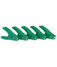 Gallagher crocodile clip green (5)